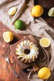 Tortas del limón Imagen de archivo