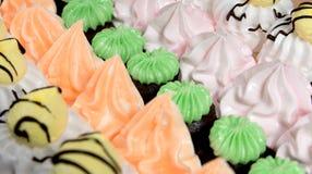 Tortas deliciosas Fotografía de archivo
