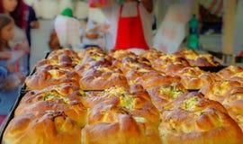 Tortas do queijo Imagens de Stock Royalty Free