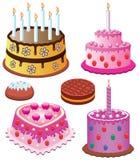 Tortas dulces Fotos de archivo libres de regalías