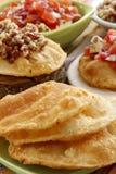 Tortas fritas saladas Stock Image