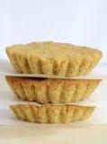 Tortas libres de la almendra del gluten Imagenes de archivo
