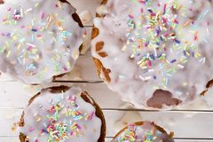 Tortas recientemente cocidas de Pascua foto de archivo