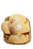 Tortas típicas de Emilian Foto de archivo