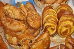 Tortas y empanadas Fotos de archivo