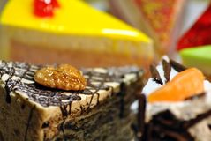 torte Fotografia Stock