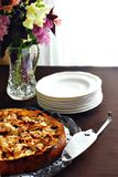μήλο torte Στοκ Εικόνες