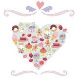 Torte royalty illustrazione gratis
