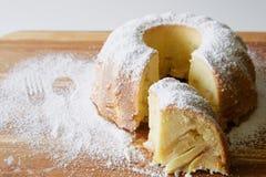 Torte Apples Charlotte Stockfotos