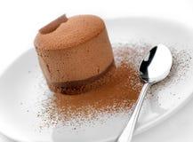 Torte belga del chocolate   Foto de archivo