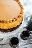 Torte de la avellana Fotos de archivo libres de regalías