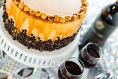 Torte de la avellana Imagen de archivo libre de regalías