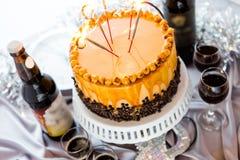 Torte de la avellana Fotografía de archivo libre de regalías