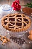 Torte de Linzer. Foto de archivo