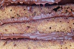 Torte del cioccolato Fotografia Stock