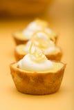 Torte del limone Fotografia Stock