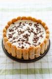 Torte del Tiramisu Foto de archivo libre de regalías