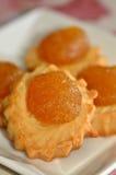 Torte dell'ananas Immagini Stock