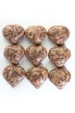 Torte di cioccolato Fotografie Stock Libere da Diritti