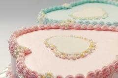Torte di compleanno Immagine Stock