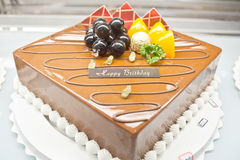 Torte di compleanno, progettazione delle pasticcerie Immagini Stock