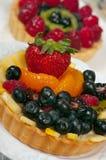 Torte di frutta Immagini Stock