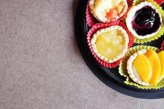Torte di frutta Fotografie Stock Libere da Diritti