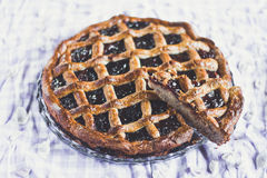 Torte di Linzer Fotografia Stock
