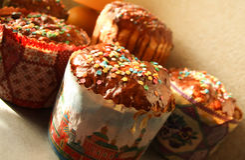 Torte di Pasqua Fotografie Stock