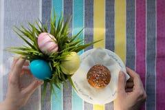 Torte di Pasqua Immagine Stock Libera da Diritti