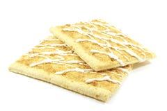 Torte di schiocco affinchè il tostapane siano cotti Fotografia Stock