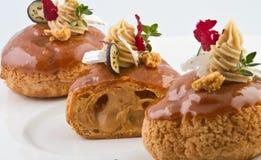 Torte dolci Fotografia Stock