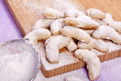 Torte dolci della sabbia Immagini Stock