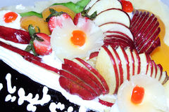 Torte with fruits Royalty Free Stock Photo