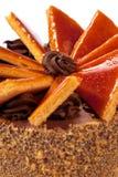 Torte húngaro de Dobos - bolo Imagens de Stock