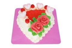 Torte Heart Shape Stock Photography
