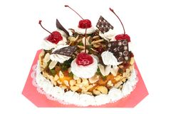 Torte isolated Royalty Free Stock Image