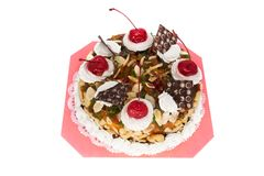 Torte isolated Stock Photography