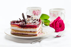 Torte with jelly Royalty Free Stock Photography