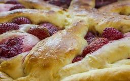 Torte mit Erdbeeren Lizenzfreie Stockfotografie
