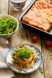 Torte mit Huhn Lizenzfreie Stockfotos