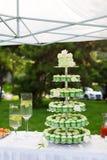 Torte nunziali Fotografia Stock Libera da Diritti