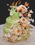 Torte nunziali Fotografia Stock