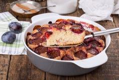 Torte original de prune photos libres de droits