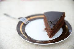 Torte original VIENNE de Sacher Photographie stock