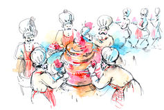 Torte Stock Image