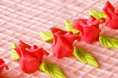 Torte rose Image stock