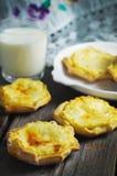 Torte russe della patata Fotografia Stock Libera da Diritti