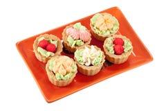 Torte saporite Fotografia Stock