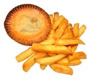 Torte und Chips Lizenzfreie Stockbilder